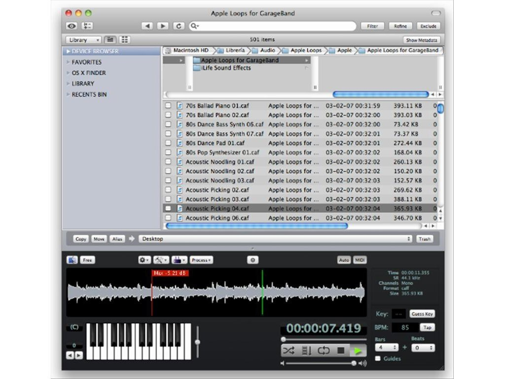 AudioFinder 5 9 26 - Download for Mac Free