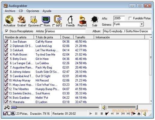 AudioGrabber 1.83 build 1