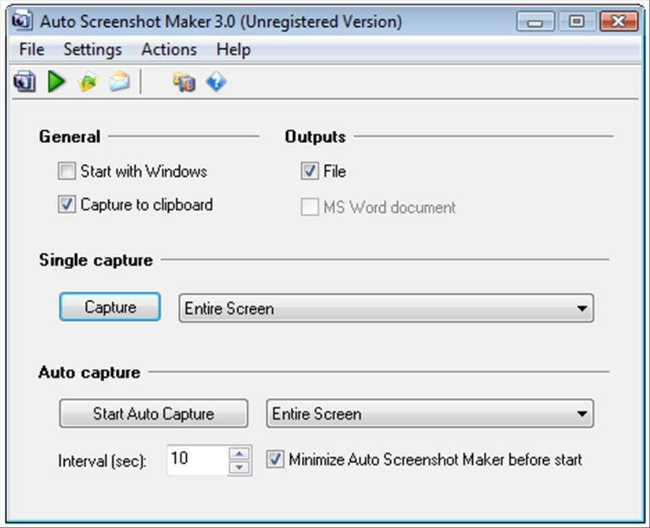 Auto Screenshot Maker image 5