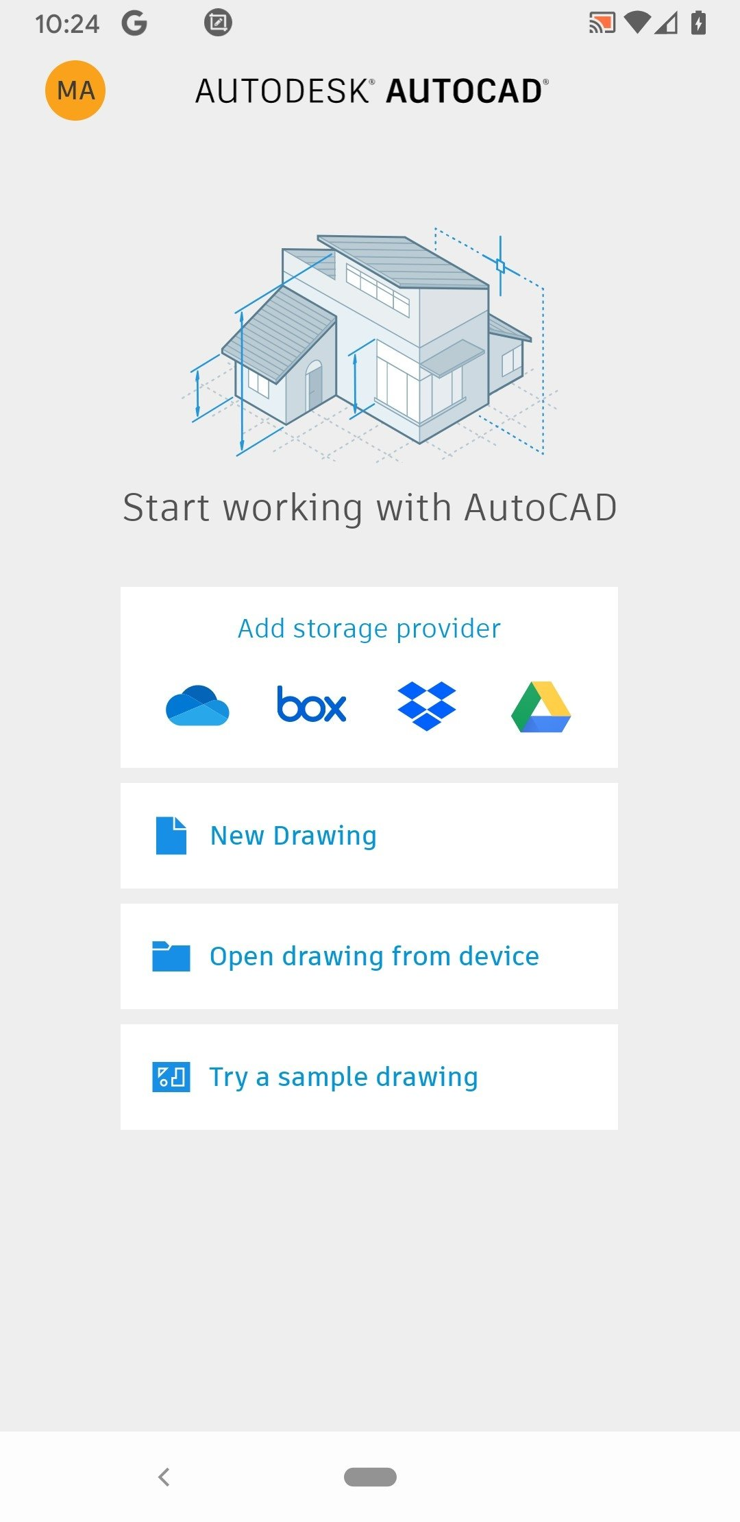 cad software for android tablets free download