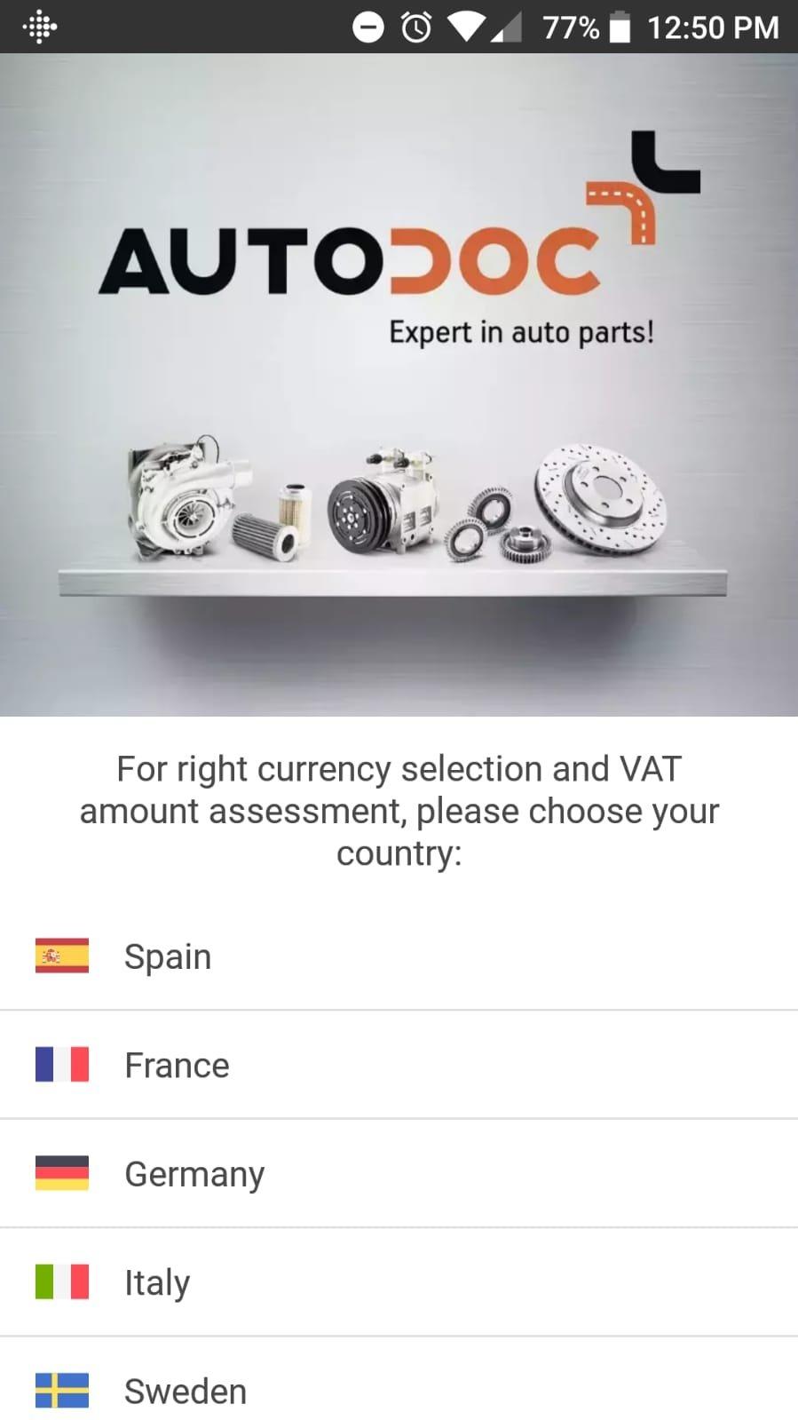 Autodoc - Pièces Auto App Android image 6