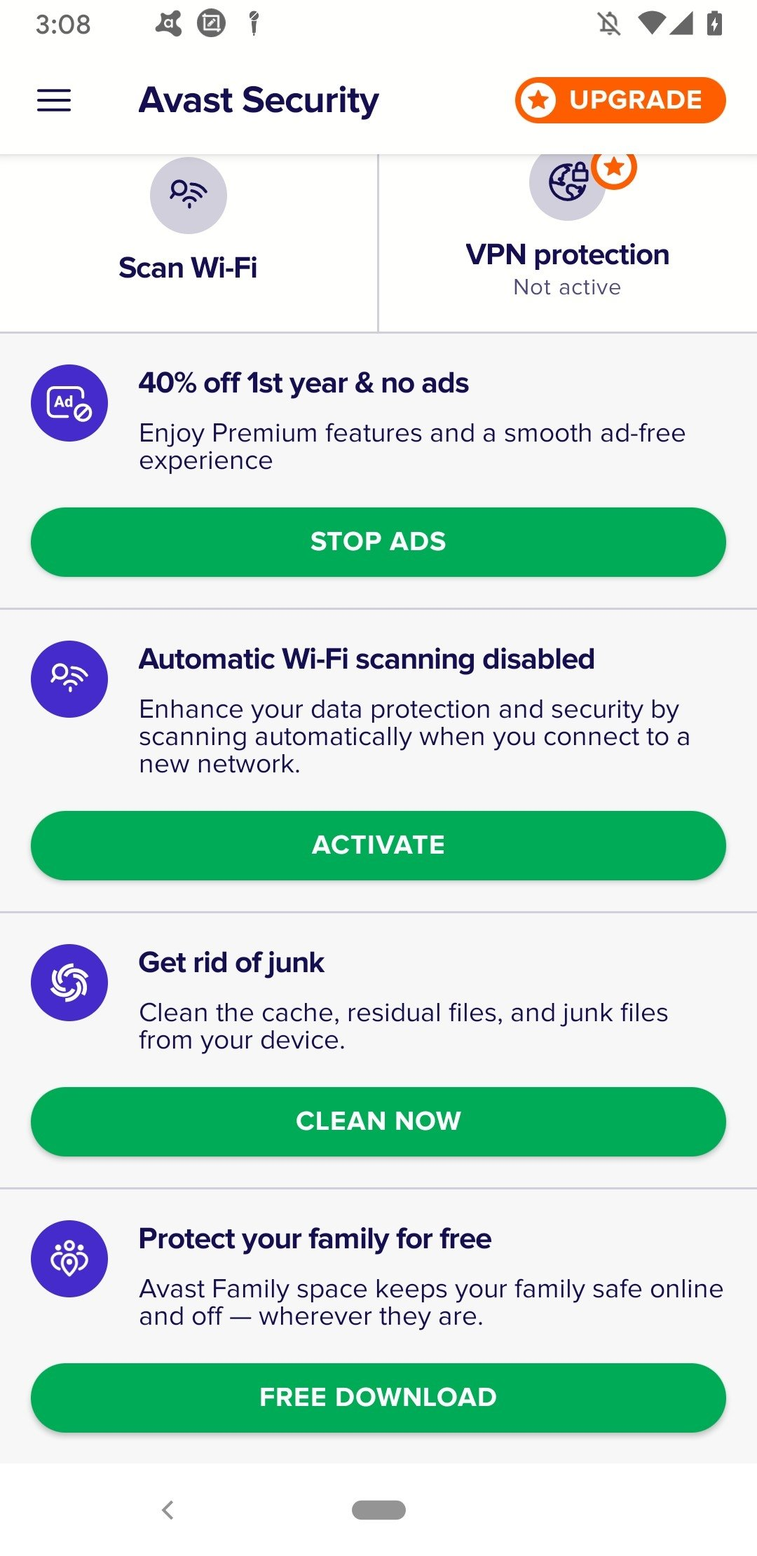 get avast for android