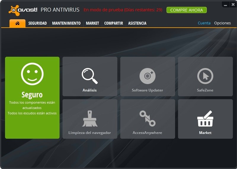 Avast! Pro 2015 10.3.2225