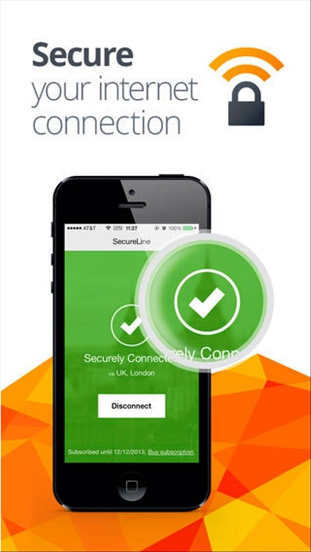 avast! SecureLine VPN iPhone image 5
