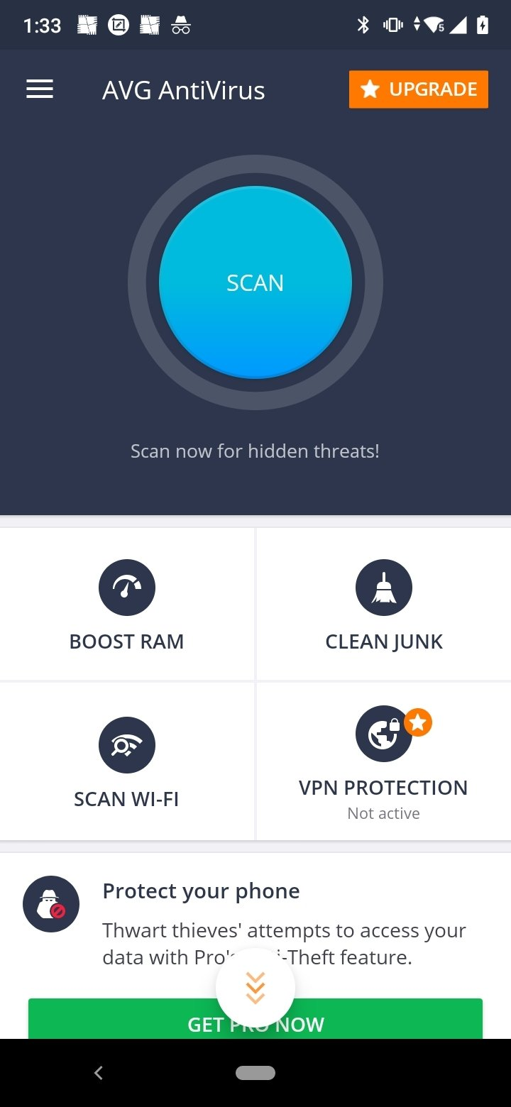 avg antivirus for android download
