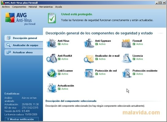 AVG Anti-Virus plus Firewall image 7