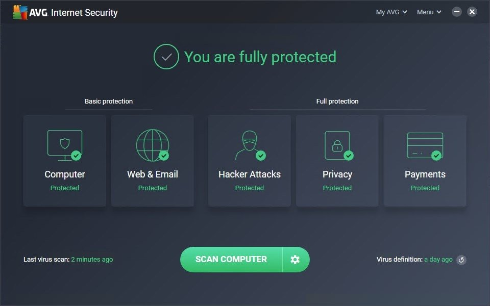 AVG Internet Security 2015.0.5961