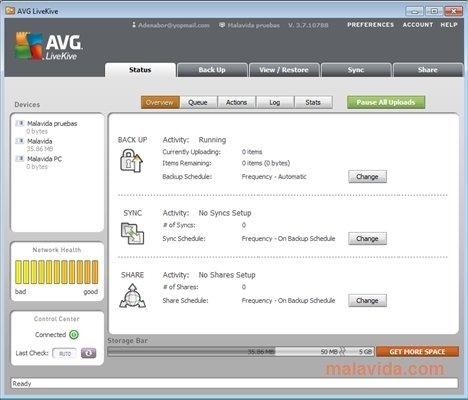 AVG LiveKive image 5
