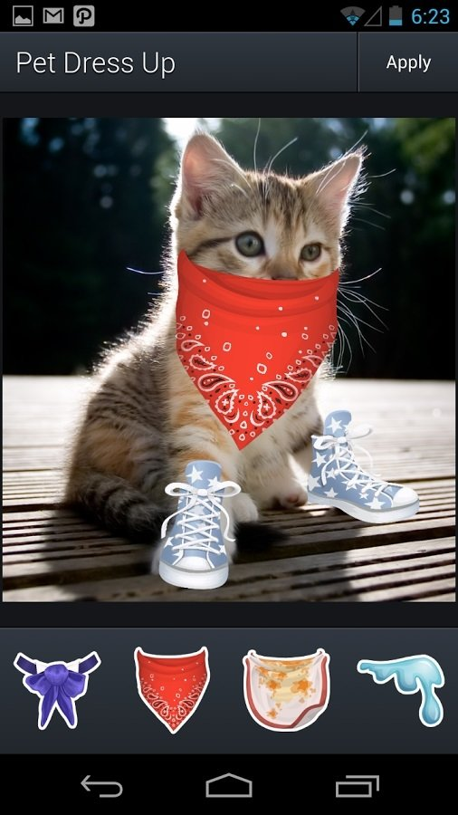 Aviary Stickers: Pet Outfits Android image 4