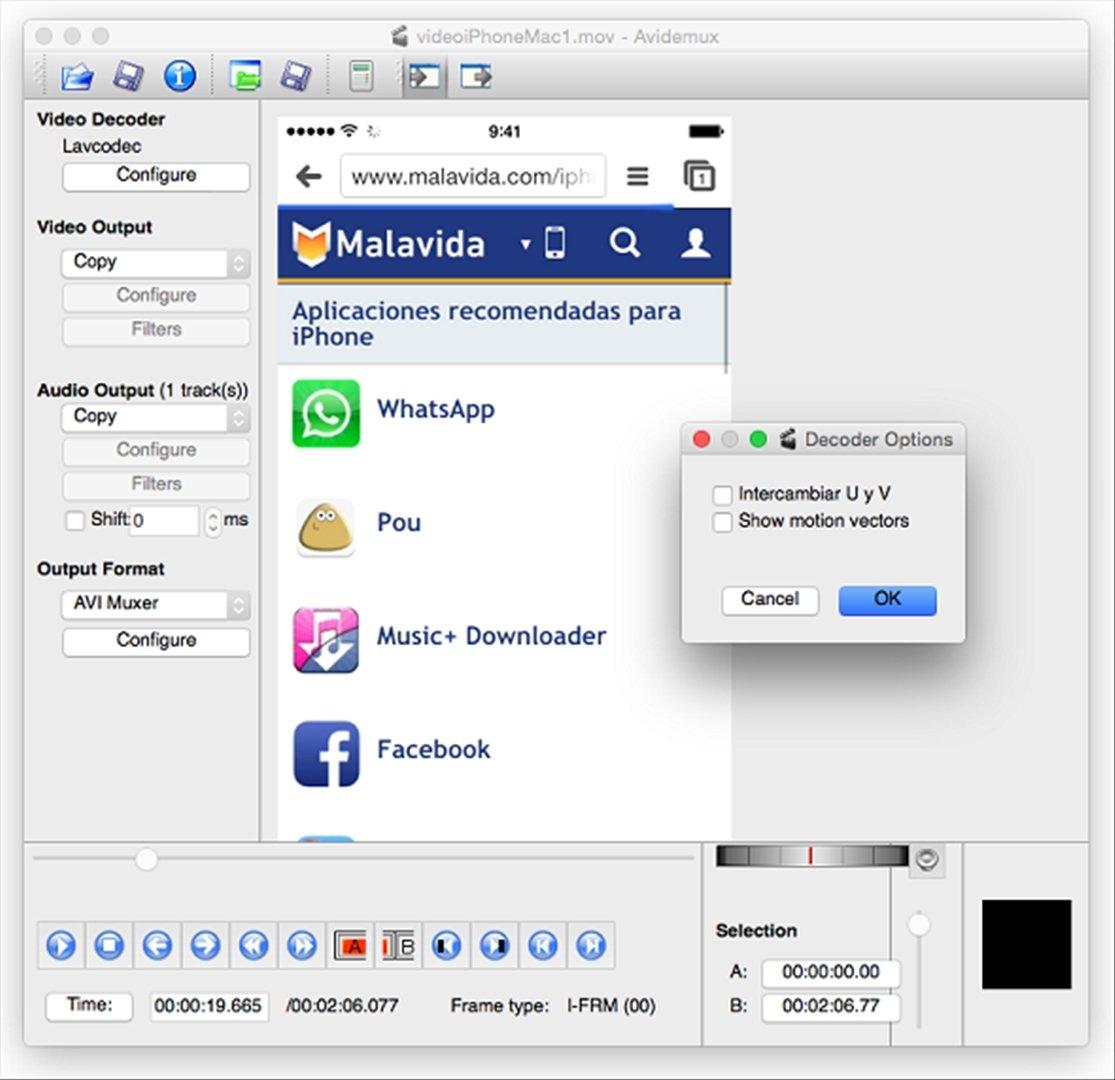 logiciel avidemux gratuit