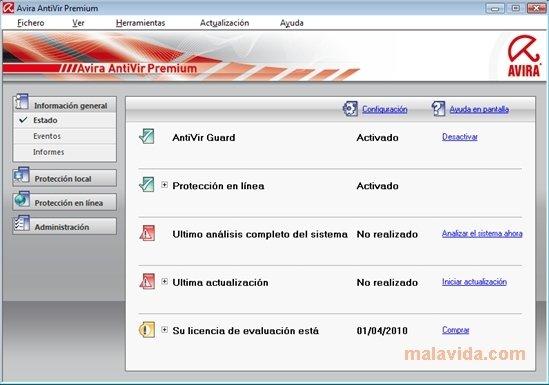 Avira AntiVir Premium 2013 13.0.0.284