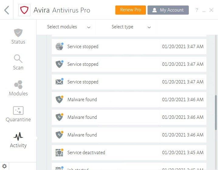 antivirus pro download