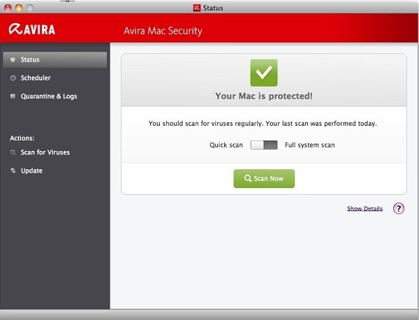 Avira Mac Security Mac image 5