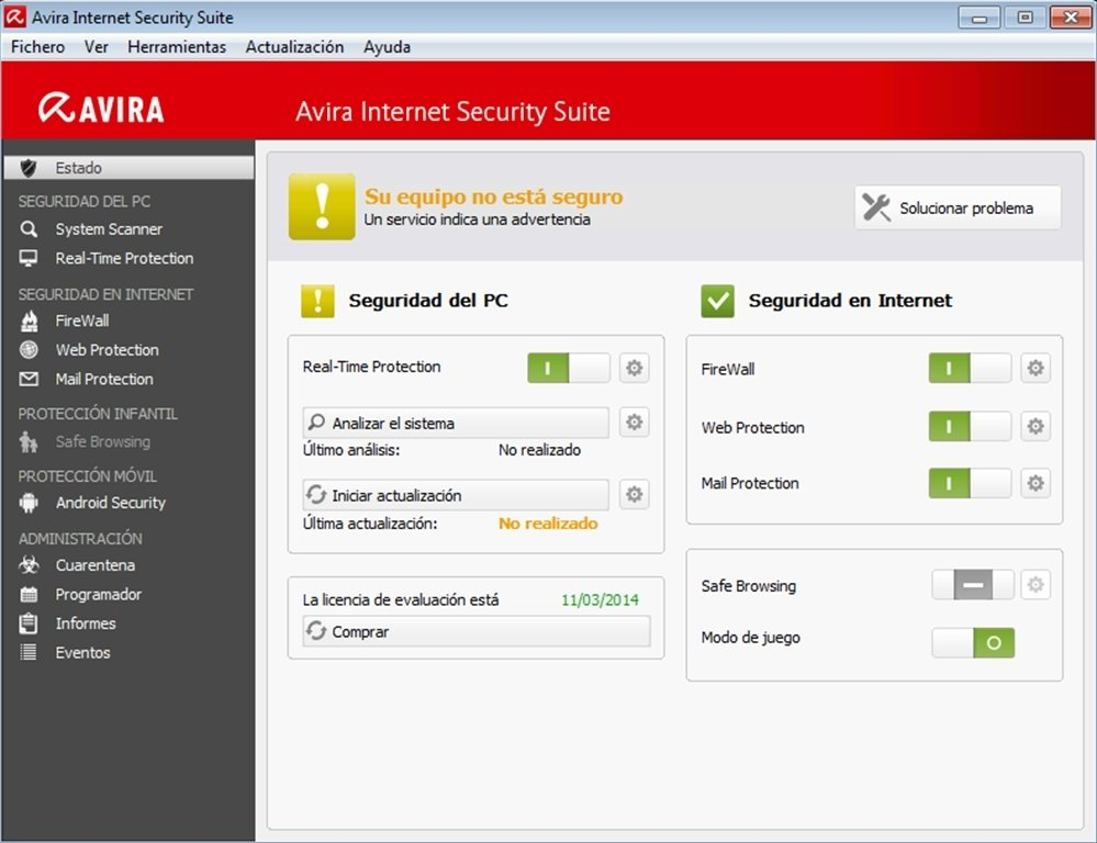 Avira Internet Security Suite 14.0.4.672