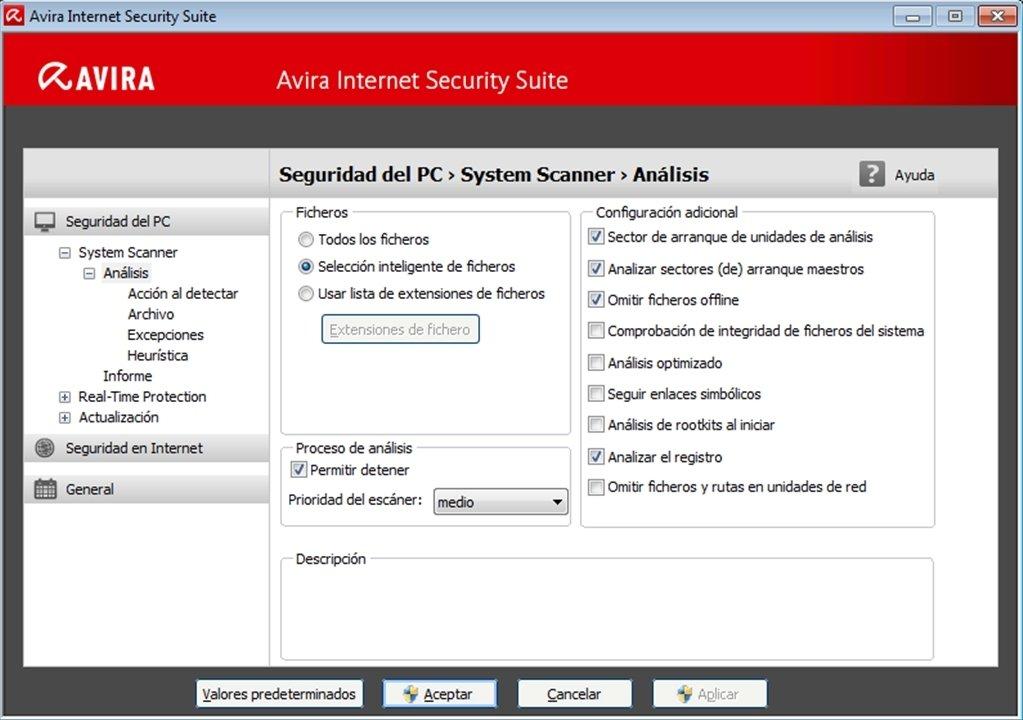 avira internet security suite trial