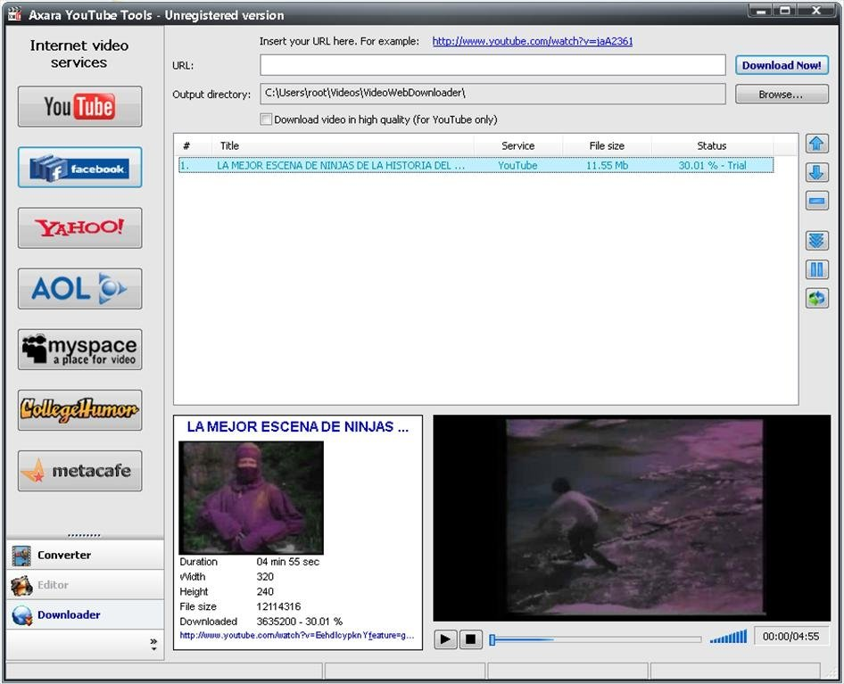 Axara YouTube Tools image 3