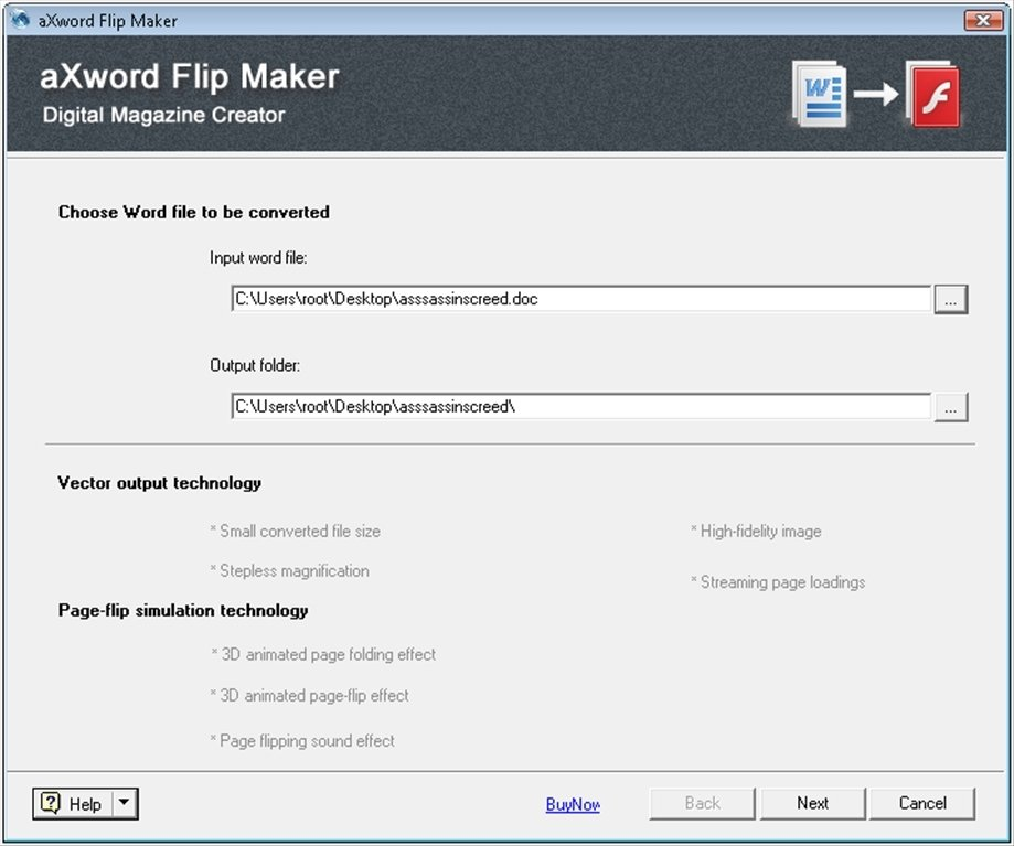 aXword Flip Maker image 6