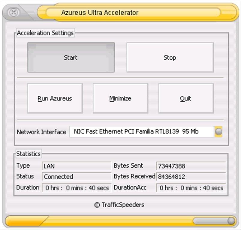 Azureus Ultra Accelerator image 2