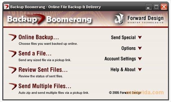 Backup Boomerang image 4