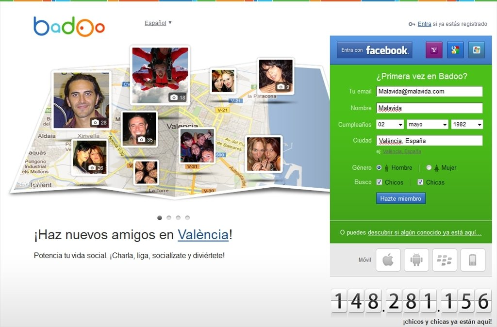 Badoo search