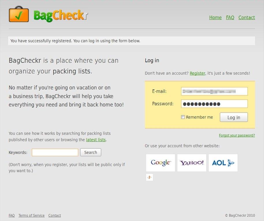 BagCheckr Webapps image 4