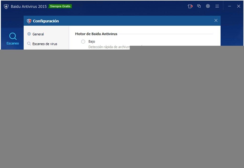 Baixar Baidu Antivirus 2015 5.4.3.17894 - Grátis em Português