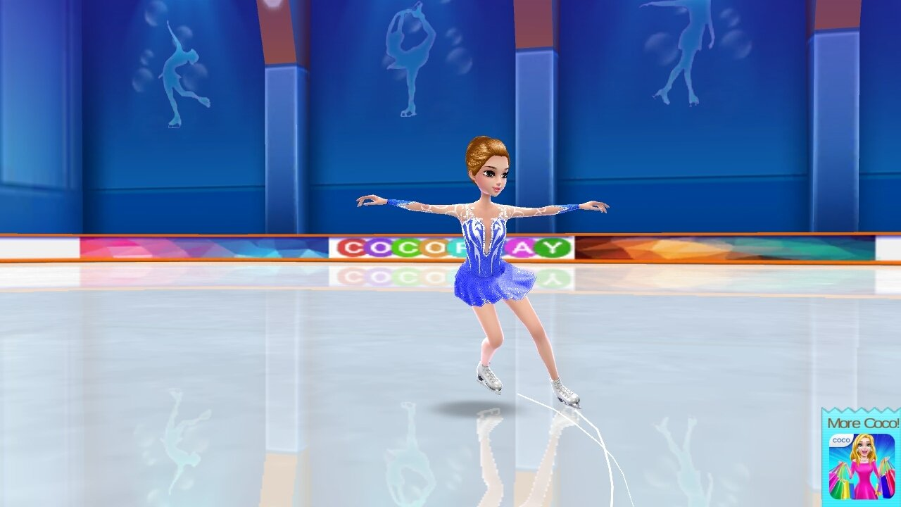 Ice Skating Ballerina Android image 8
