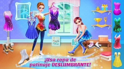 Patineuse artistique - Habits, maquillage & danse iPhone image 5