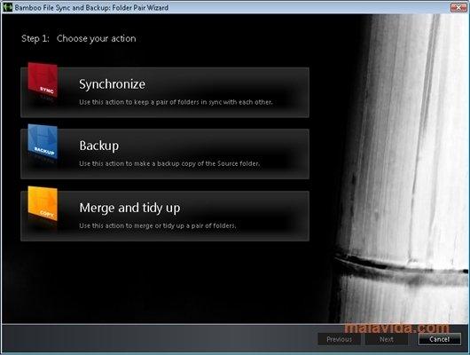 Bamboo File Sync and Backup image 5