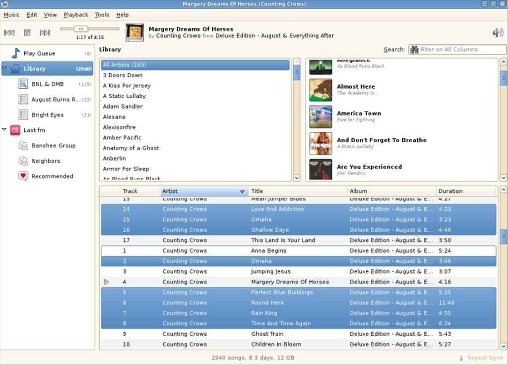 Banshee Linux image 3