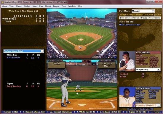 Baseball Mogul image 4
