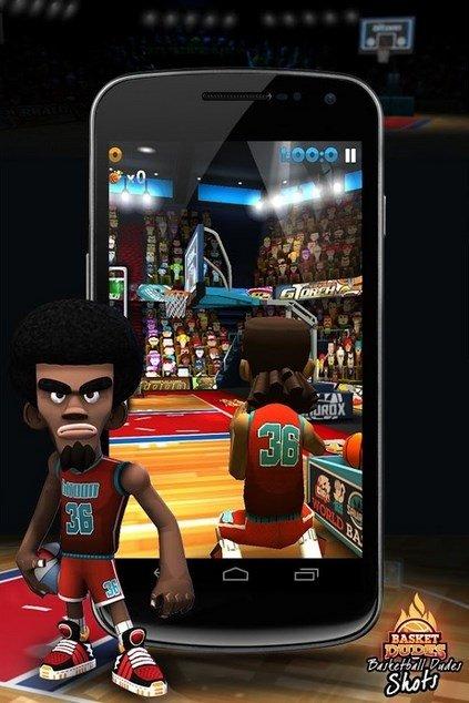 Basketball Dudes Shots Android image 5