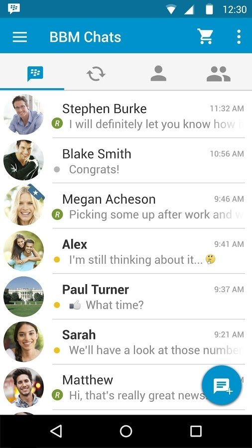 BBM - BlackBerry Messenger 3 3 21 78 - Download for Android Free