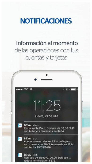 BBVA Spain iPhone image 6