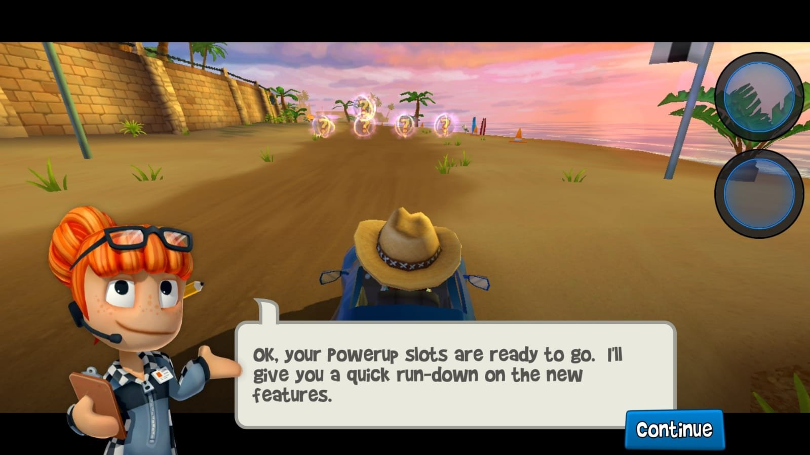 download game beach buggy racing apk mod