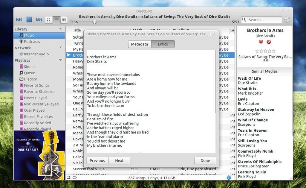 BeatBox Linux image 2