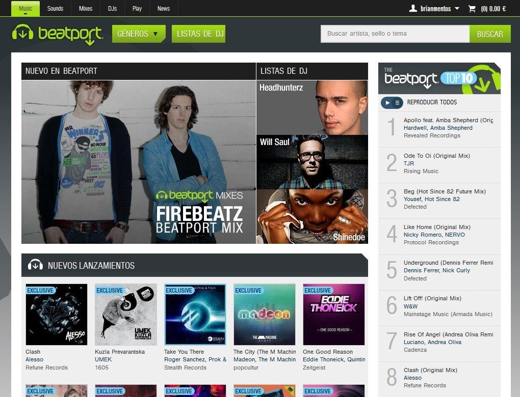 Beatport Webapps image 7