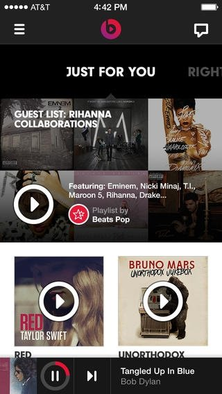Beats Music iPhone image 5