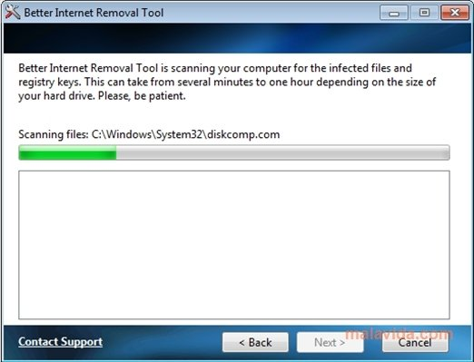 Better Internet Removal Tool image 3