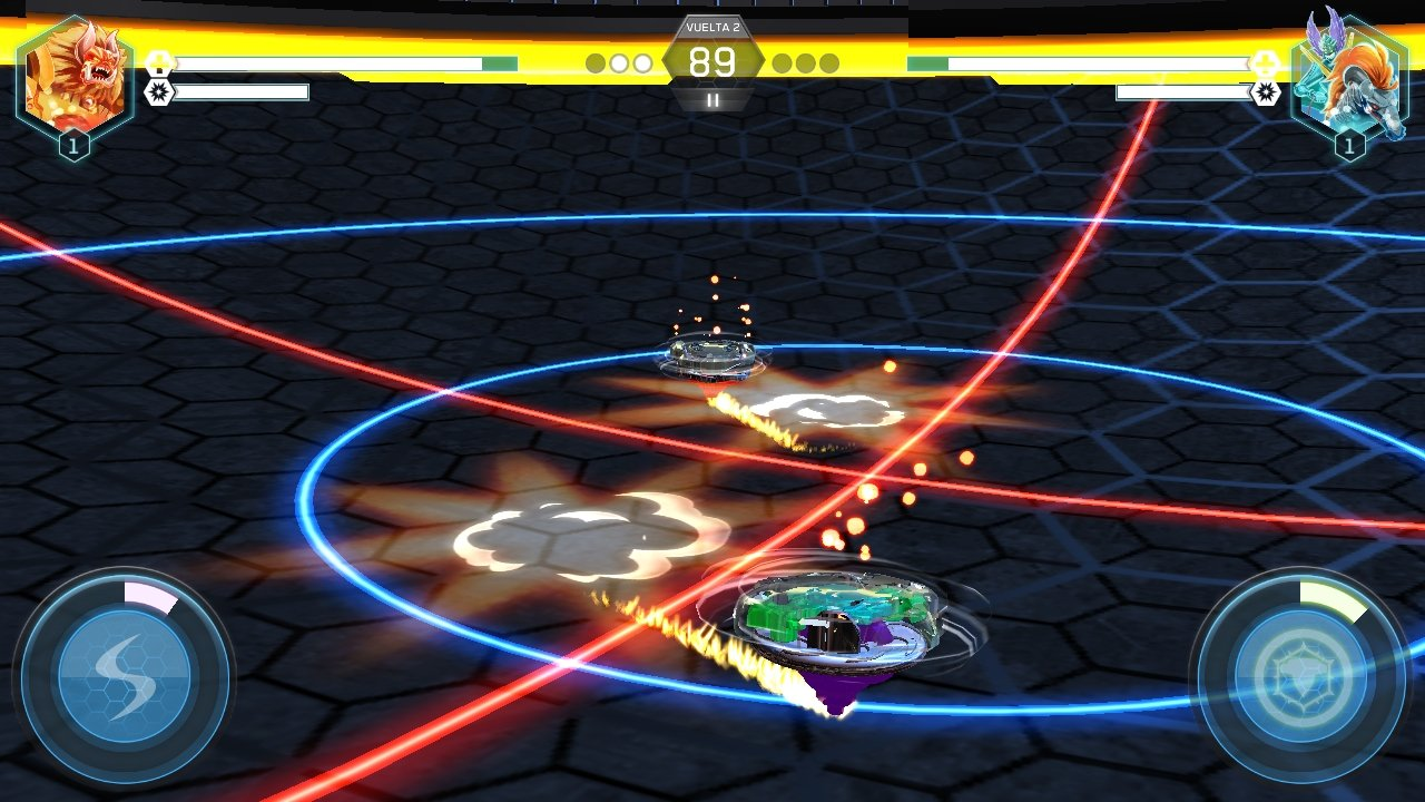 beyblade battles app apk indir