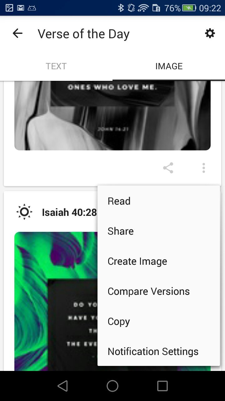 application pour android bible