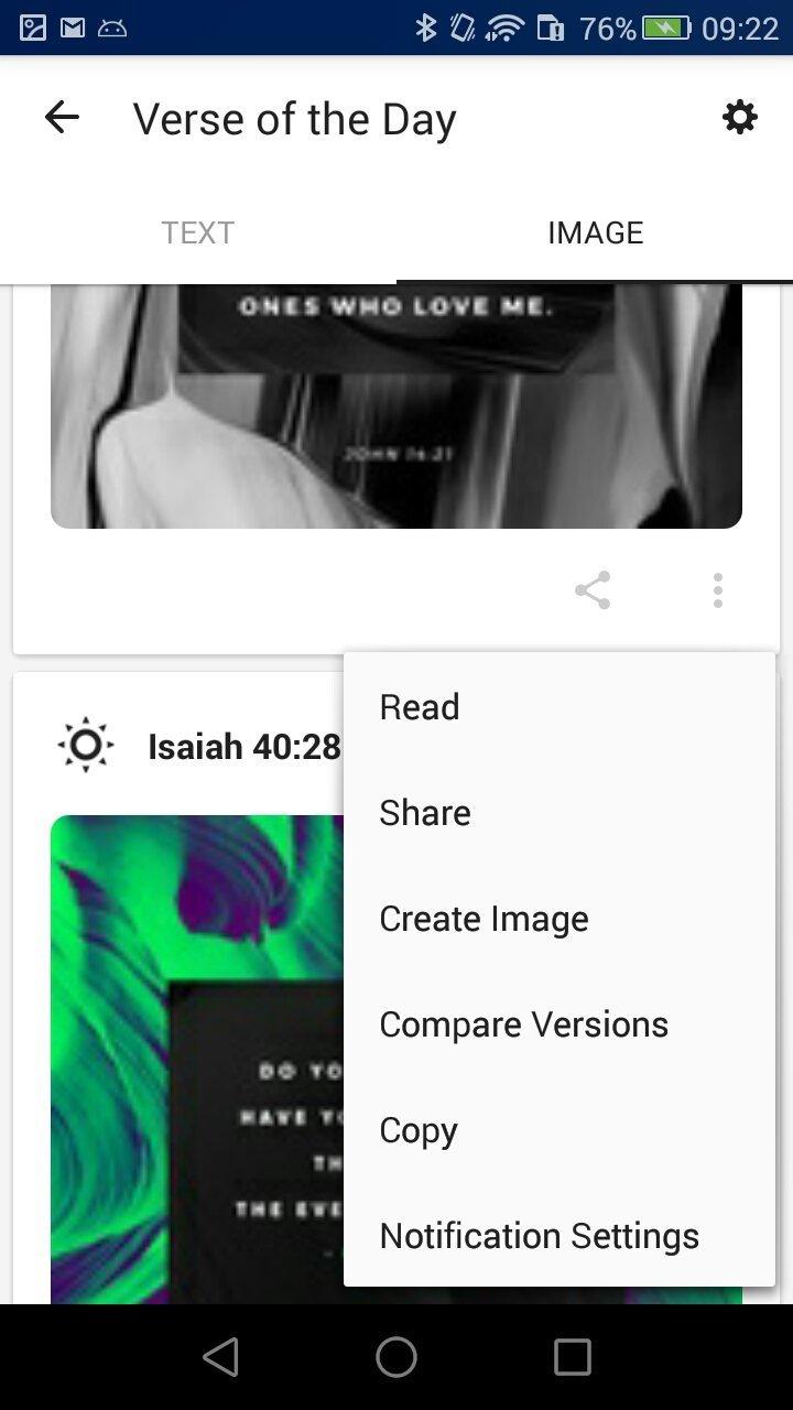 Informations sur Bible