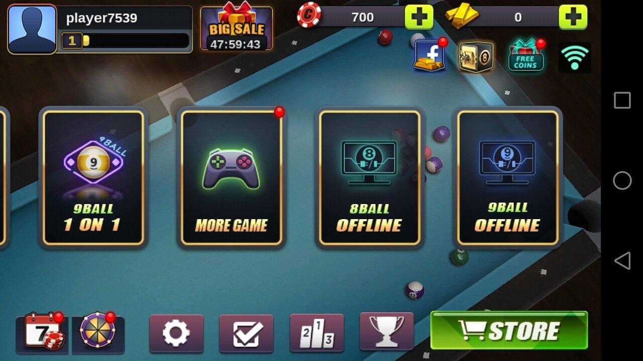billar pool 8 y 9 ball online 4.3