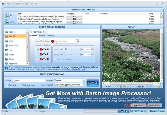 BinaryMark Batch Image Resizer image 3