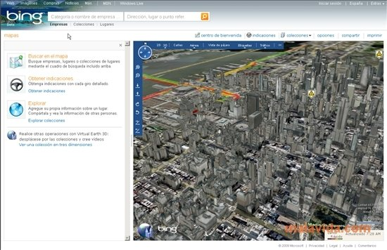 Download bing maps 3d 4 gratis in italiano for Giardino 3d gratis italiano