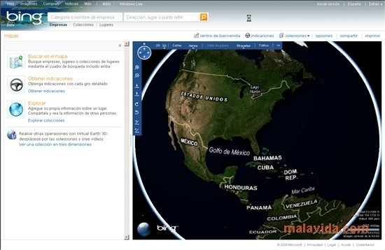 Bing Maps 3D 4.0.1003 - Download für PC Kostenlos Download Bing Maps on