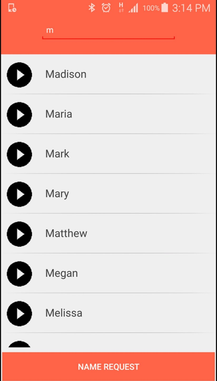 Birthday song with name app Android image 3