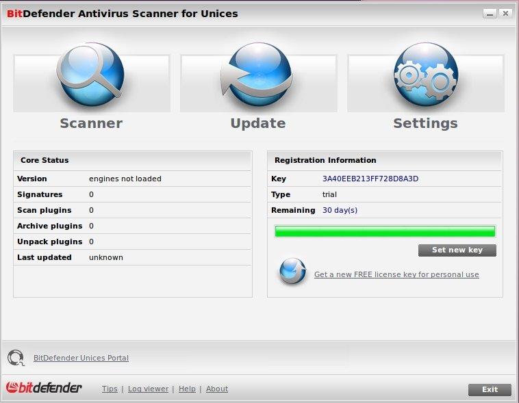 Bitdefender Antivirus Scanner Linux image 5