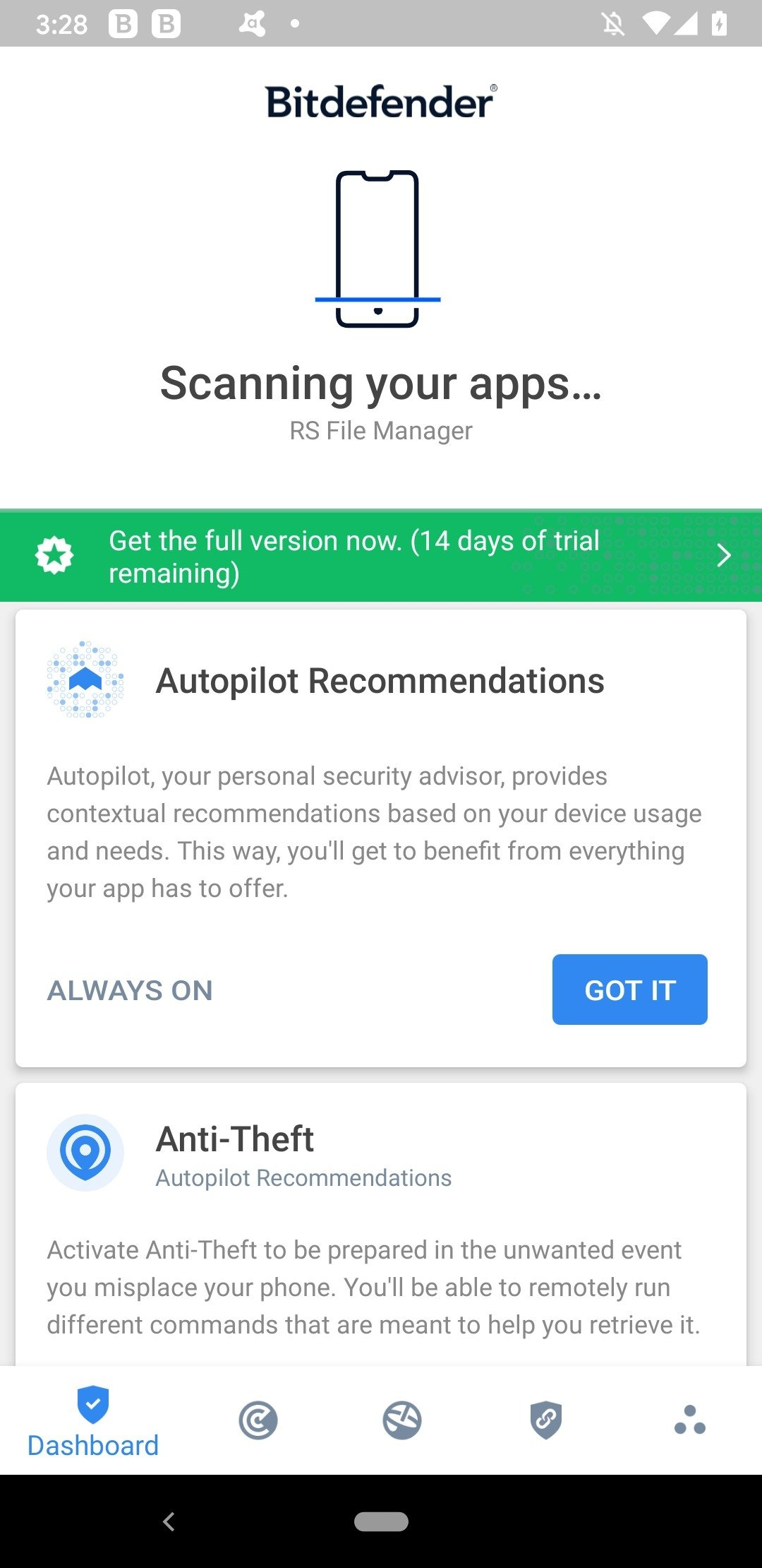 Bitdefender Mobile Security & Antivirus Android image 8