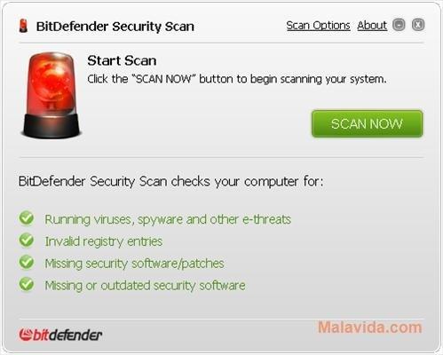 BitDefender Security Scan image 4
